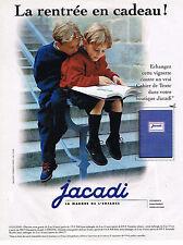 PUBLICITE ADVERTISING 045  1996  JACADI  vetements pour enfants garçons