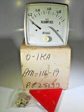 Crompton Am-116-19 016/02 0-1 Ac Kiloamperes Gauge Nib