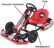 Go Kart,36V Electric Drifting Go Cart for Kids,Outdoor Race Pedal Go Karting Car