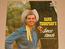 Hank Thompson's WITH THE BRAZOS VALLEY BOYS-Dance Ranch LP Capitol Records