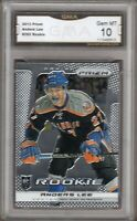 GMA 10 Gem Mint ANDERS LEE 2013/14 PANINI PRIZM ROOKIE Card ISLANDERS!