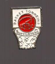 Pin's Basket / supporters de l'USTBC de Tonneins (qualité zamac)