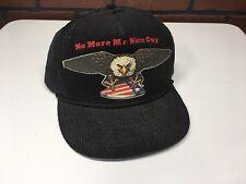 Vintage NO MORE MR. NICE GUY Trucker Foam Front Snapback Hat Cap America Eagle