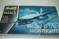 REVELL MESSERSCHMITT Me 262 B-1 / U-1   1:32 scale plastic  kit