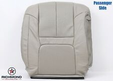 99-00 Cadillac Escalade -Passenger Lean Back PERFORATED Leather Seat Cover Tan