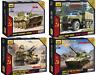 ZVEZDA Soviet Military Vehicles / Tanks /Armed Forces Model Kits 1:100 Unpainted