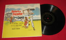 "GARY COOPER SOUNDTRACK ""RETURN TO PARADISE"" 1953 10"" DECCA"