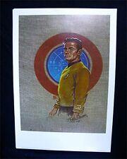 Kelly Freas Star Trek Prints Set Of 7 Officers Signed