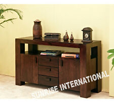 Contemporary Wooden Sideboard cabinet rack ( 2 door, 3 drawers , 1 Open shelf )