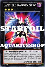 Yu-Gi-Oh! Lanciere Raggio Nero STARFOIL SP13-IT029 Black Ray Lancer Fortissimo