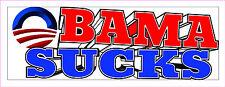 Anti-Obama OBAMA SUCKS Political  Bumper Sticker Impeach Obama #224