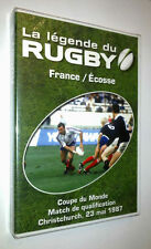 DVD NEUF RUGBY FRANCE - ECOSSE 23 MAI 1987