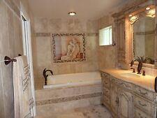 36 x 24 Art Rodin Kiss Mural Ceramic Backsplash Bath Tile #69