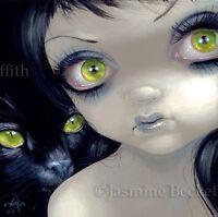 Fairy Face 170 Jasmine Becket-Griffith SIGNED 6x6 PRINT