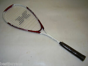 NEW!!! WAREHOUSE CLEARANCE POLYCARBONALLOY SQUASH RACQUET