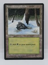 NM Snow-Covered Forest Ice Age Land MtG Magic The Gathering 1995