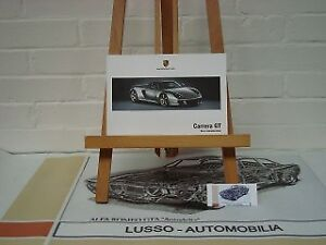 Porsche Carrera GT owners manual