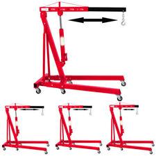 2 Ton Hydraulic Folding Workshop Engine Crane Hoist Lift Stand Wheels