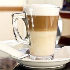 6x Glass Latte Té Tazas De Café Tazas Ideal Para Tassimo & DOLCE GUSTO VAINAS