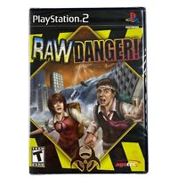 Raw Danger! (Sony PlayStation 2, 2007) *BRAND NEW & SEALED* PS2 RARE