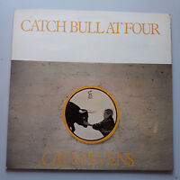 Cat Stevens - Catch Bull At Four Vinyl LP UK 1st Press 1972 EX/EX