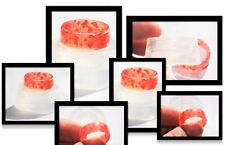 New !Clear Silicone ring Mold  ,size 8. Free USA Shipping.(K-02)