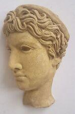 Greek Roman Art Face Reproduction Fragment Athena Statue Art Sculpture