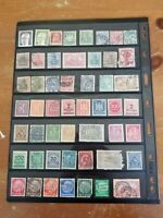 Stamp Collection - Germany - Used - 2 Scans - Q8