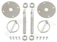 """Cromo Bonnet Pin Kit/campana & Deck Pins-con 3/16"""" clips de torsión"""