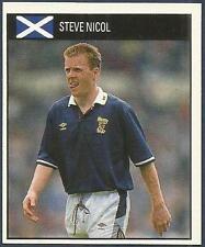 ORBIS 1990 WORLD CUP COLLECTION-#111-SCOTLAND & LIVERPOOL-AYR-STEVE NICOL