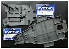Vintage RC Car Kyosho WH1 WH2 Chassis (2) Nitro Wheelie Hoppin Mad Pedal Popper