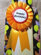 5Stück Rosette Orden Happy Birthday Dekoration Geschenk zum Geburtstag