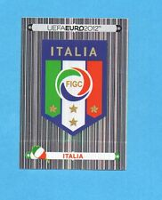 PANINI-EURO 2012-Figurina n.311- SCUDETTO/BADGE - ITALIA -NEW