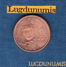 FRANCE - 2000 - 2 centimes d'euro - Pièce neuve de rouleau -