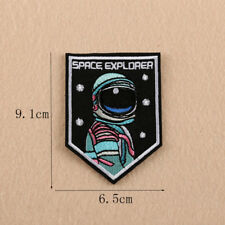 Space Explorer Embroidery Sew Iron Patch Badge Fabric Clothes Applique Transfer