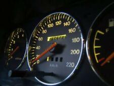 Daewoo Espero 1990-1999 Cerclages De Compteur Aluminium Anneaux Chrome x3