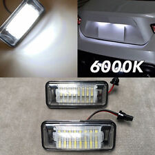 NO ERROR 6000K LED LICENSE PLATE LIGHT LAMP FOR IMPREZA LEGACY XV WRX STI