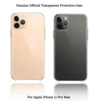 Genuine Official Transparent Phone Case for Apple iPhone 11 Pro XS Max X XR 7 8+