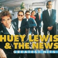 "HUEY LEWIS & THE NEWS ""GREATEST HITS"" CD NEUWARE"