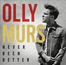 Olly Murs - Never Been Better [New and Sealed CD]
