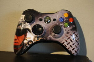Xbox 360 Wireless Prototype Controller - Microsoft Brand Official - Black Army