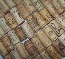 Natural USED Wine Corks Lot of 5 10 20 30 40 50 Recycled Upcycled Wedding Craft