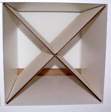 Flaschenregal Regal Einsatz diagonal Ikea Kallax Expedit Weinregal Holz 12 Fl.