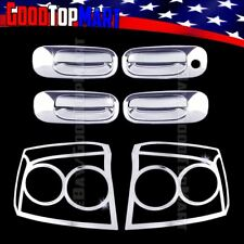 For Dodge CHARGER 2009 2010 Chrome Covers Set 4 Doors w/out PK + 2 Taillights
