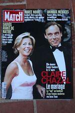 paris match 2651 du 18 mars 2000 claire chazal madonna macias santana al pacino