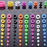 8x/set Acrylic Tunnels Ear Expander Stretchers Ear Tragus Piercing Kit Ear Plugs