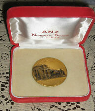 ANZ Numismatic Society of Victoria Medal 75 Years Federation Attractive  Scarce