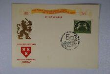 """B2 Europa Niederlande 411 Sonderkarte """"PZV 50"""" privater Durchstich"""