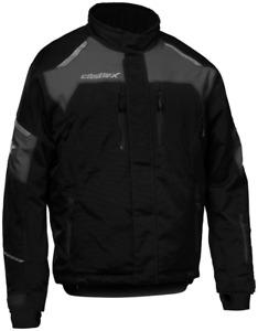 Castle X Polar Jacket Black/Charcoal Snowmobile jackets