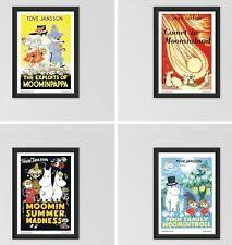 Moomin Poster Prints A3 Size 150GSM Gloss Art Paper Full Set of 4..